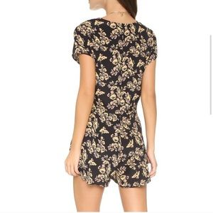 Blue Life Day Tripper floral romper